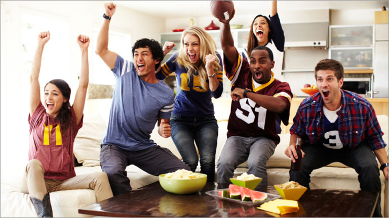 how to rock your next super bowl party tips from pinterest