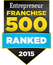 Entreprenuer Ranked Top500in2015